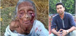 আহত সেই মা'য়ের ভরণ পোষণের দায়িত্ব নিলেন ছাত্রলীগ নেতা রাব্বানী