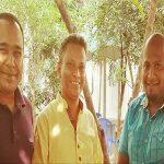 বিশিষ্ট সাংবাদিক শাবান মাহমুদের সঙ্গে আ,হ,জুবেদ